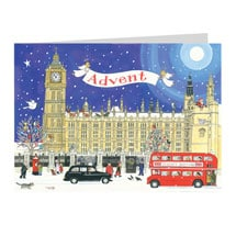 British Buildings Advent Calendar Cards