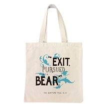 Exit Pursued by a Bear Tote Bag