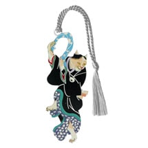 Dancing Geisha Cat Bookmark