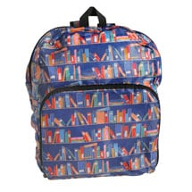 Bookshelves Reusable Backpack