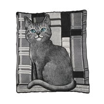Library Cat Blanket