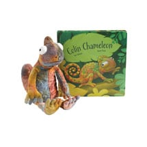 Colin Chameleon Plush
