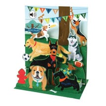 Singing Dogs Happy Birthday Card