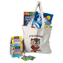 "Well-Read Kids Pack - ""Little Bookworm"" for ages 6 to 8"