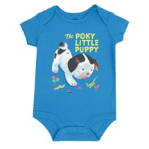 Poky Little Puppy Bodysuit (blue)