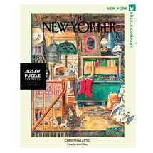 New Yorker Christmas Attic Puzzle