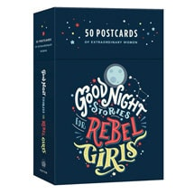 Goodnight Stories for Rebel Girls Postcards