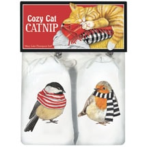 Birds in Scarves Catnip