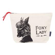 Foxy Lady Cosmetic Bag