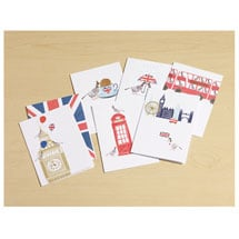 London Calling Note Cards