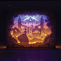 Cinderella Cut-Paper Light Box