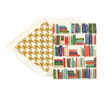 Beautiful Bookshelves Note Cards