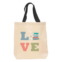 Love Books Tote