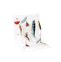 Fishing Lures Pop-Up Father's Day Card