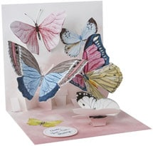 Butterflies Pop-Up Mother's Day Card