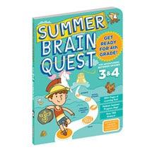 Summer Brain Quest - Grades 3 and 4