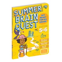 Summer Brain Quest - Grades 5 and 6