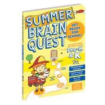 Summer Brain Quest - Grades Pre-K and K