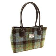 Harris Tweed MacLeod Tartan Hand Bag