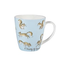 Country Crowd Mugs - Squirrels