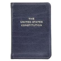 U.S. Constitution Leatherbound Keepsake - Unpersonalized