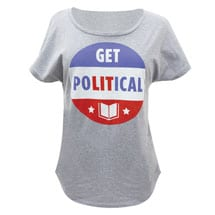 Get PoLITical T-Shirt - Ladies