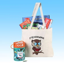 """Well-Read Kids' Packs - """"Little Bookworm"""" for ages 6 to 8"""