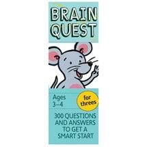 Brain Quest Decks - Ages 3-4