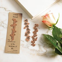 Floral Philosophy Copper Bookmarks - Daisy