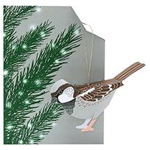 Bird Ornament Cards - Sparrow