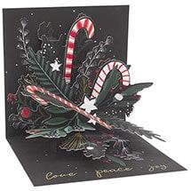 Candy Cane Bouquet Pop-Up Card