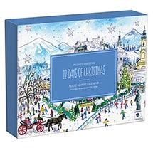 Michael Storrings 12 Days of Christmas Advent Calendar Puzzle