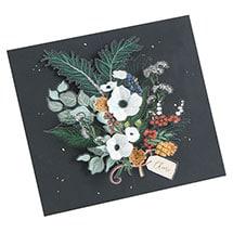 Winter Foliage Pop-Up Card