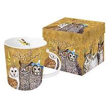 Owl Family Mug