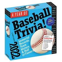 2022 Baseball Trivia Calendar