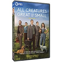 Masterpiece: All Creatures Great and Small DVD & Blu-ray
