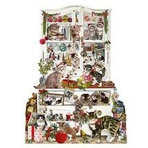 Mischievous Christmas Cats Advent Calendar
